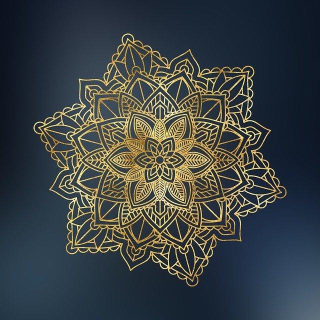 květinový ornament