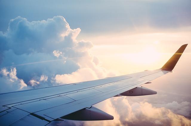 křídlo letounu